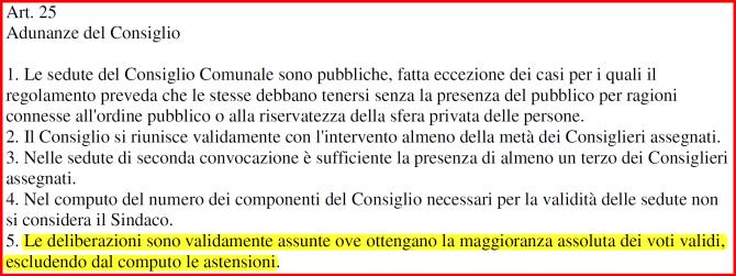 Art.25Statuto