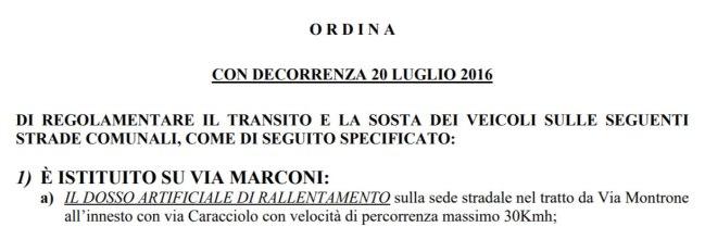 Dosso via Marconi